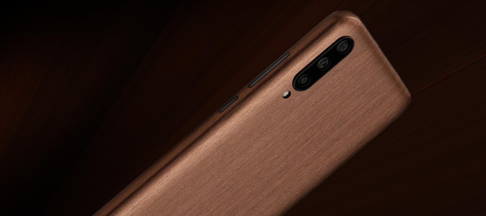 Mi A3 Brushed Copper Skins