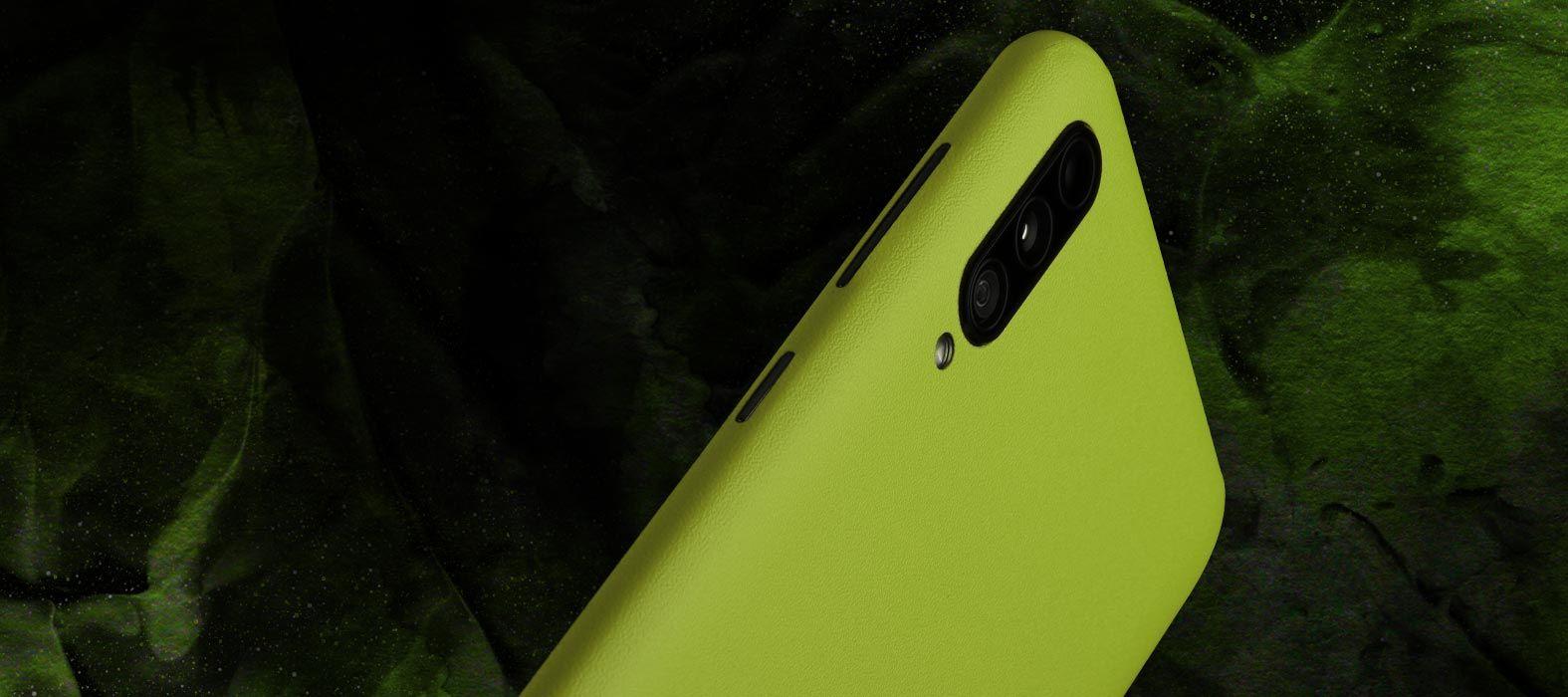 Galaxy A50s sandstone neon skins
