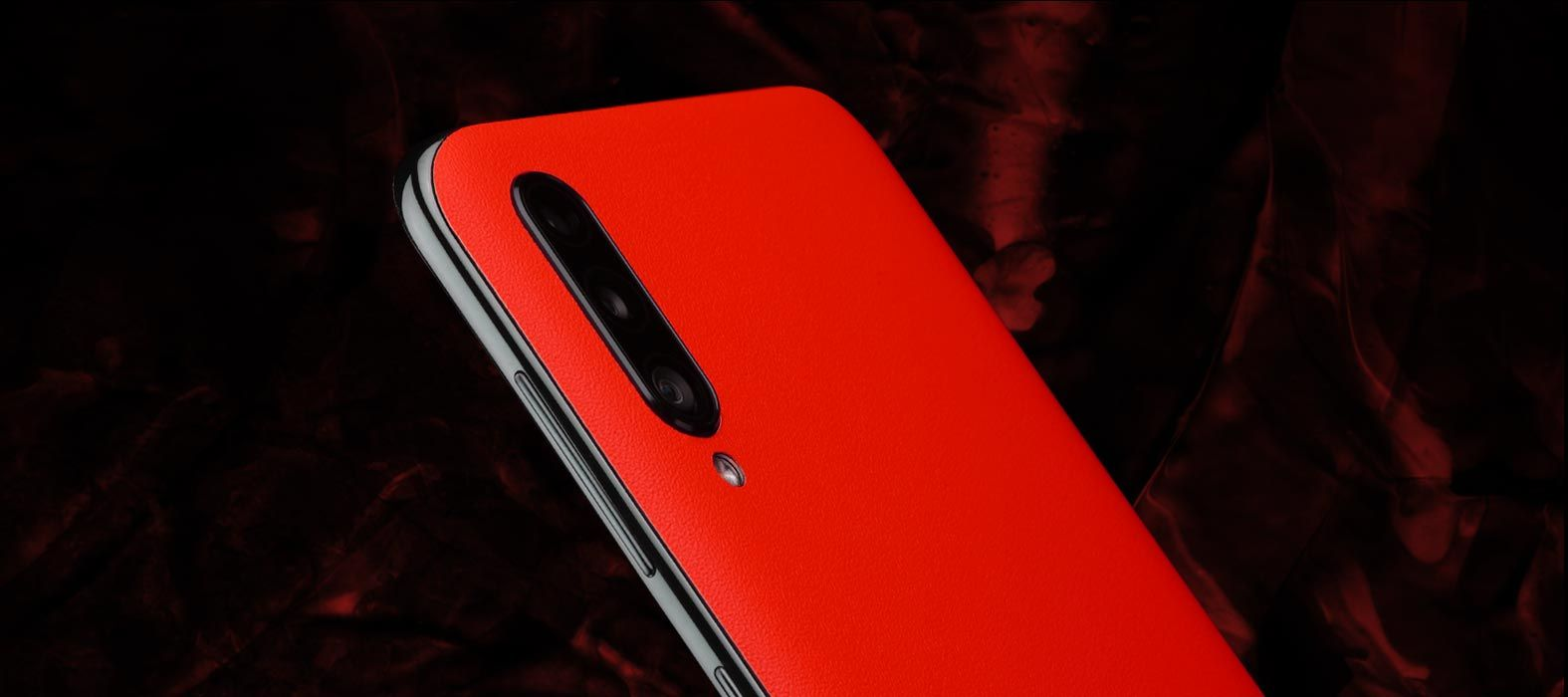 Galaxy A50s sandstone red skins