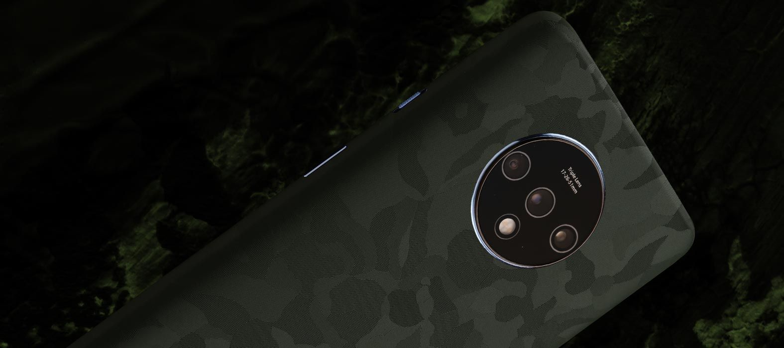 Oneplus 7T Green camoflaunt Skins