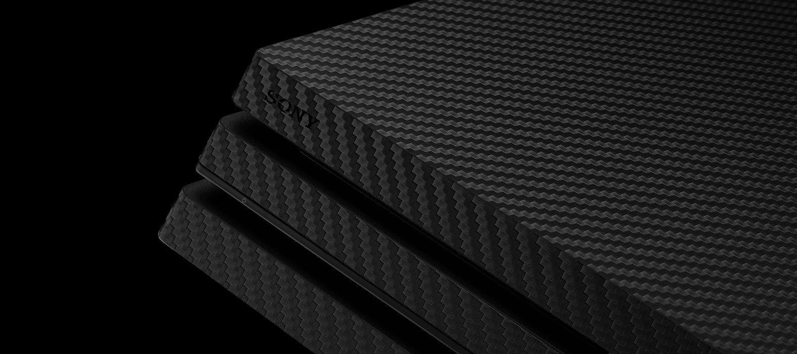 PS4 Pro Carbon Fiber Skins