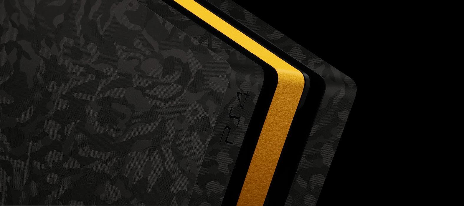 PlaPS 4 Pro Black Camo Skins