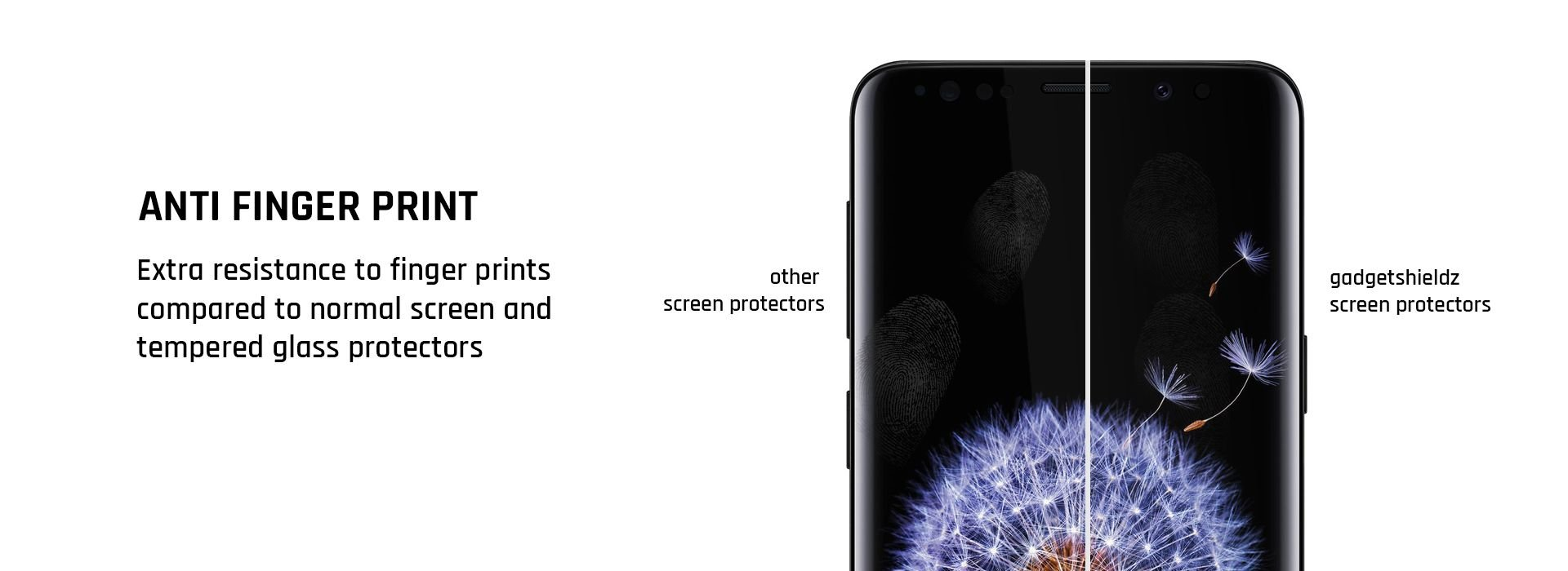 Extra grip screen Protector