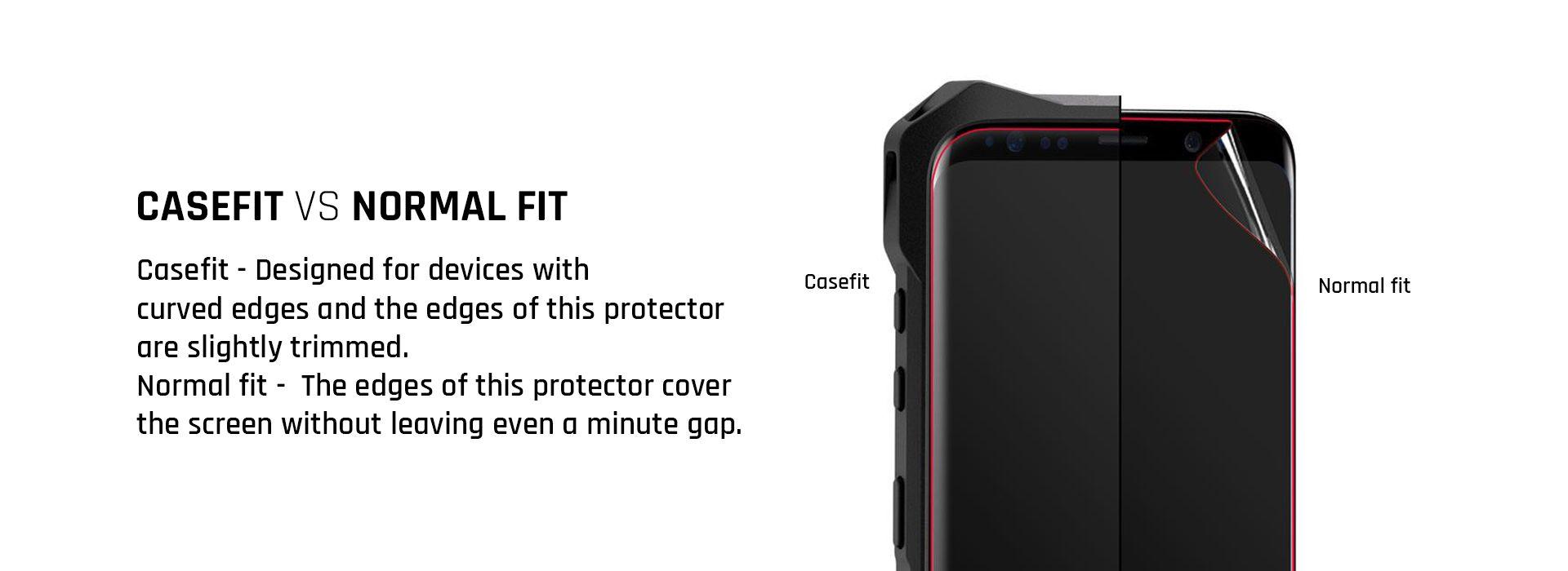 ultra flexible screen protection