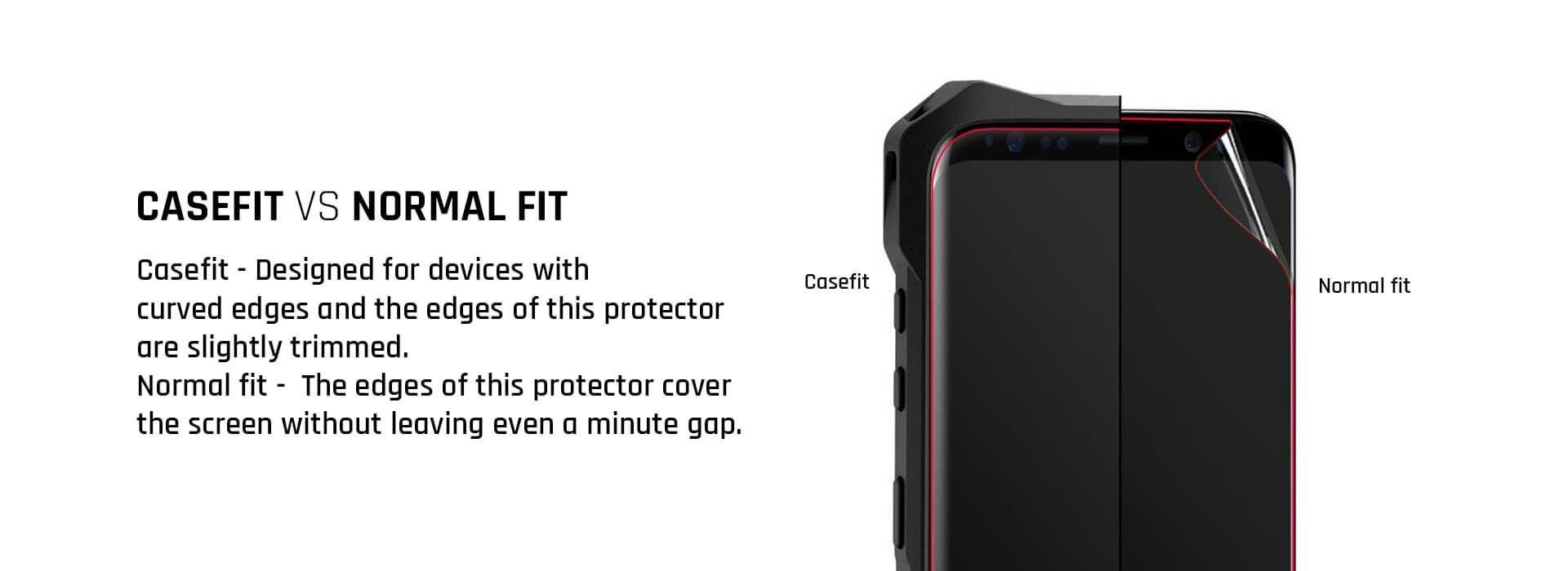 Extra grip screen Protector