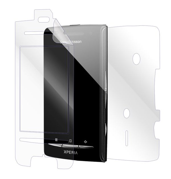 Sony Ericsson Xperia X8 Screen Protector / Skins
