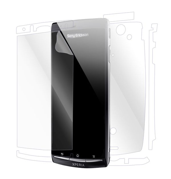 Sony Ericsson XPERIA Arc / Arc S Screen Protector / Skins