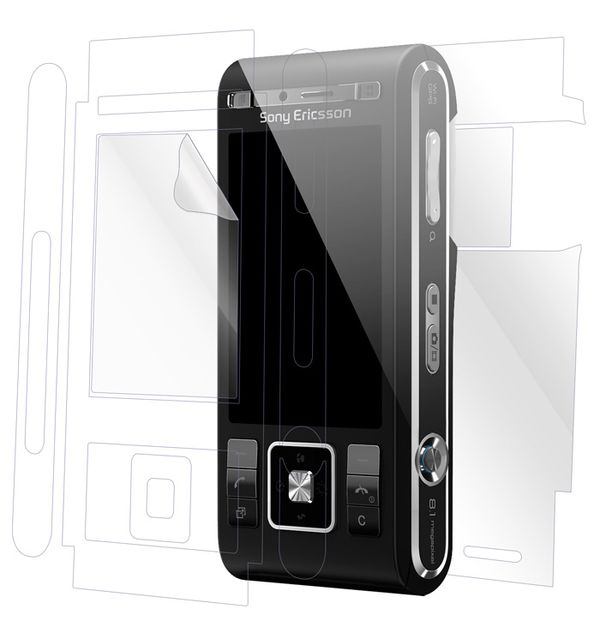 Sony Ericsson C905 Screen Protector / Skins