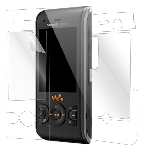 Sony Ericsson W595 Screen Protector / Skins