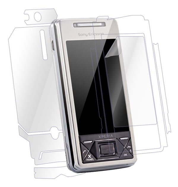 Sony Ericsson Xperia X1 Screen Protector / Skins