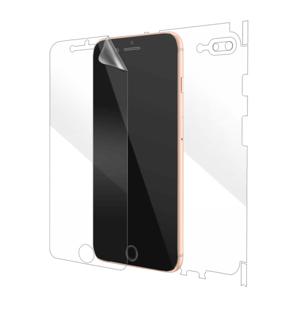 huge discount 28452 38699 iPhone 8 Plus Screen Protector, Scratch Guard & Covers | Gadgetshieldz™
