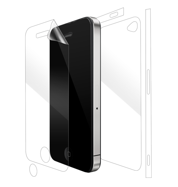 Apple iPhone 4/4S Screen Protector / Skins