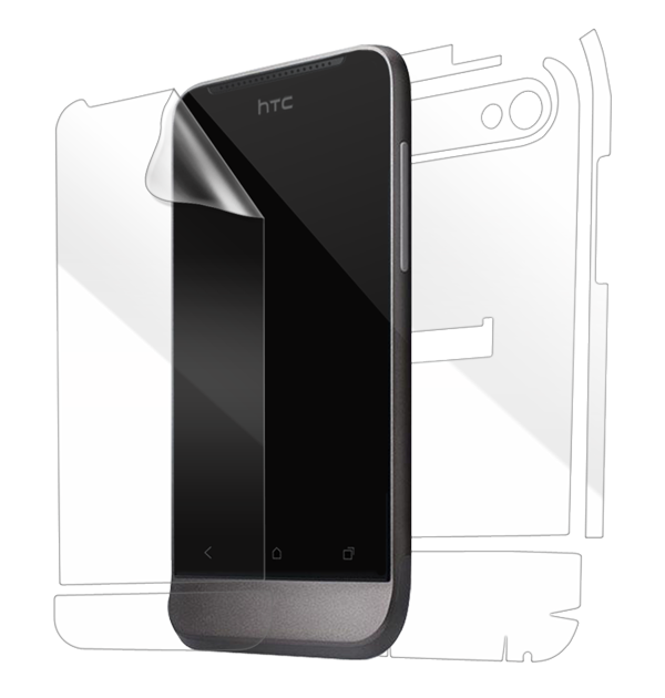 HTC One V Screen Protector / Skins