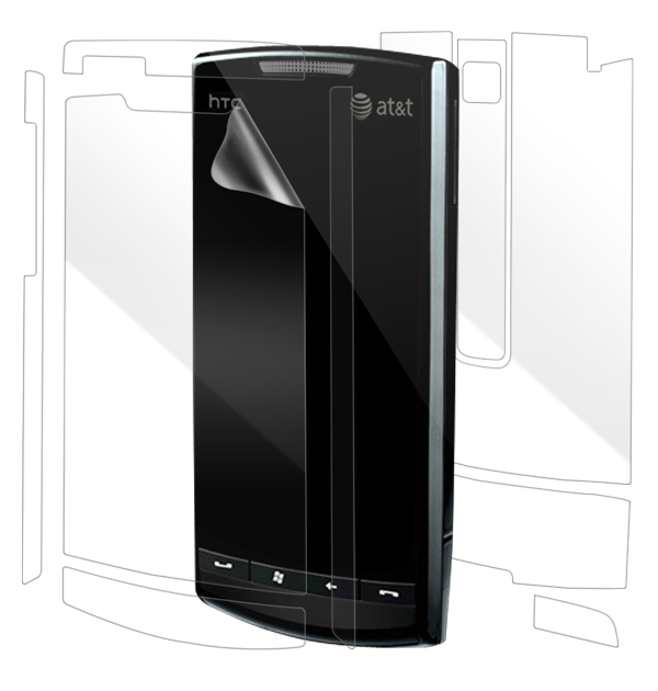 HTC Pure Screen Protector / Skins