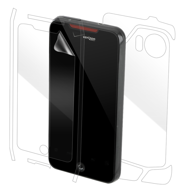 HTC Droid Incredible Screen Protector / Skins