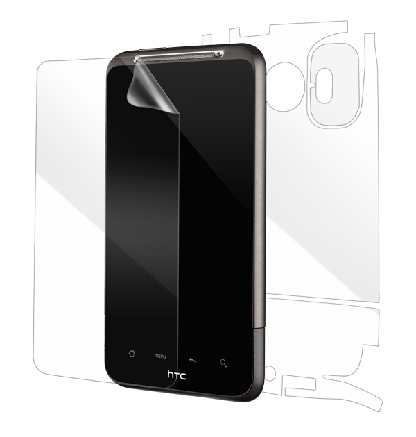 HTC Inspire 4G Screen Protector / Skins