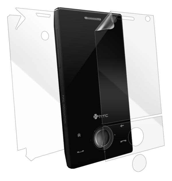 HTC Touch Diamond Screen Protector / Skins