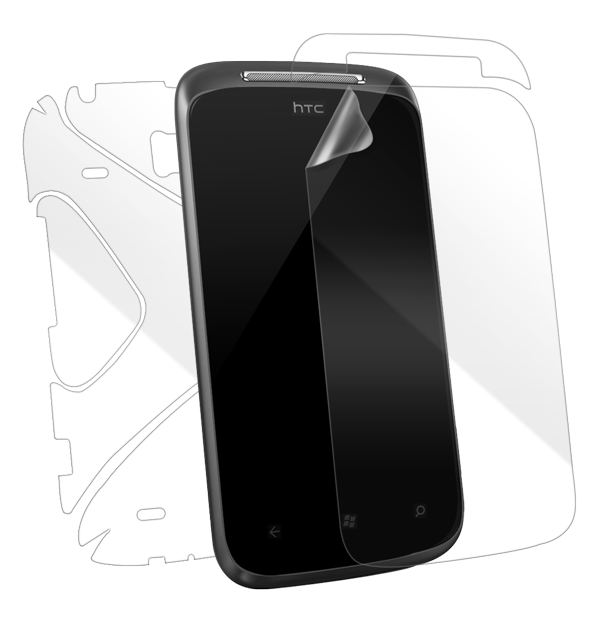 HTC 7 Mozart Screen Protector / Skins