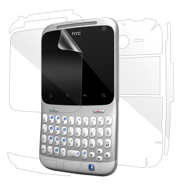 HTC ChaCha Screen Protector / Skins