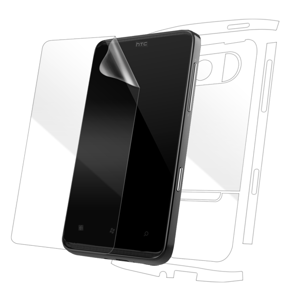 HTC HD7 Screen Protector / Skins