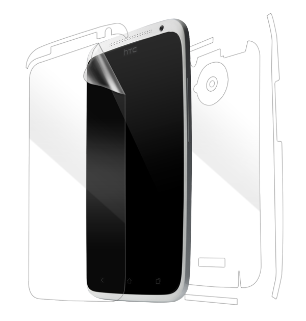 HTC One X Screen Protector / Skins