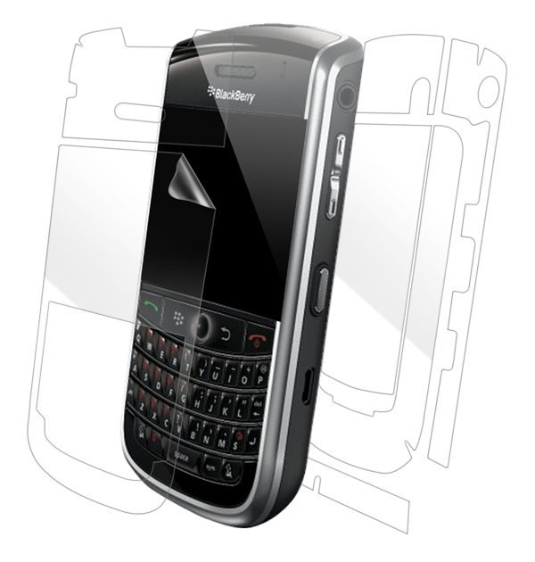 BlackBerry Tour 9630 Screen Protector / Skins