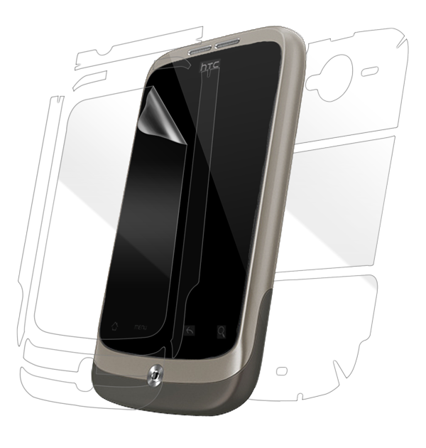 HTC Wildfire Screen Protector / Skins
