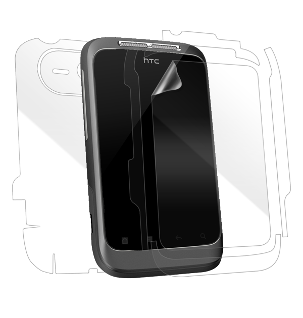 HTC Wildfire S Screen Protector / Skins