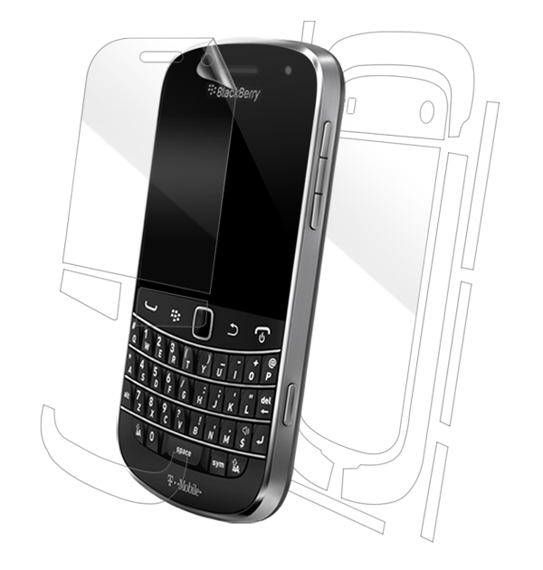 BlackBerry Bold Touch 9900/9930 Screen Protector / Skins