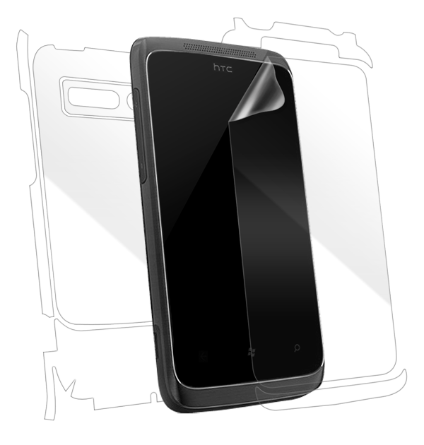 HTC 7 Trophy Screen Protector / Skins