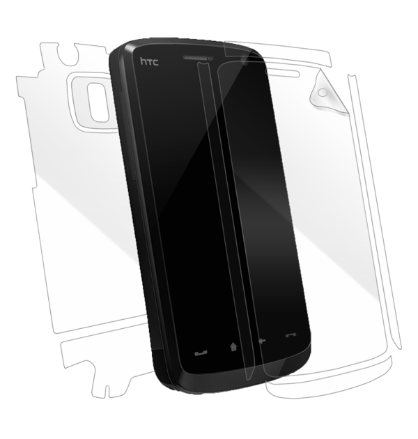 HTC Touch HD Screen Protector / Skins