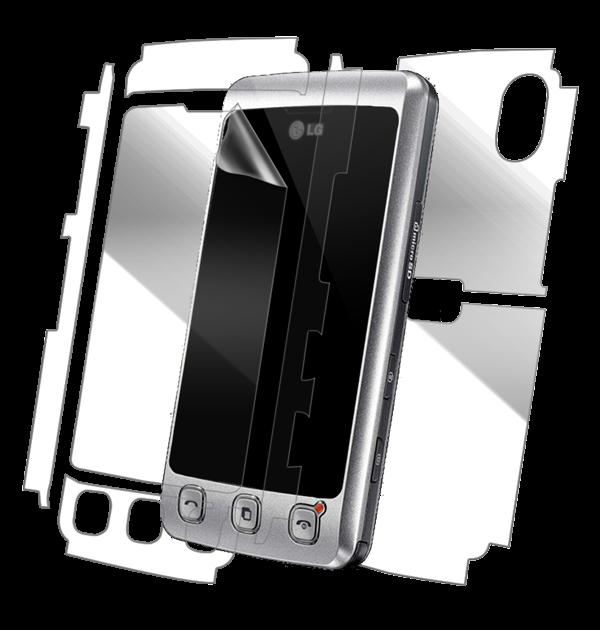 LG KP500 Cookie Screen Protector / Skins