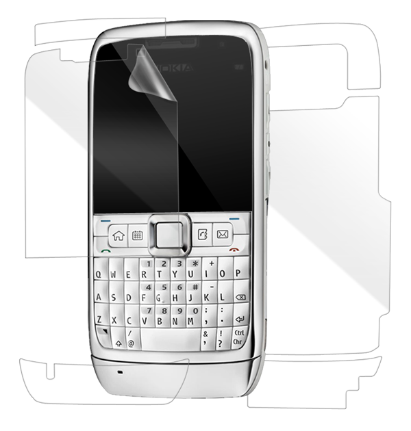 Nokia E71 Screen Protector / Skins