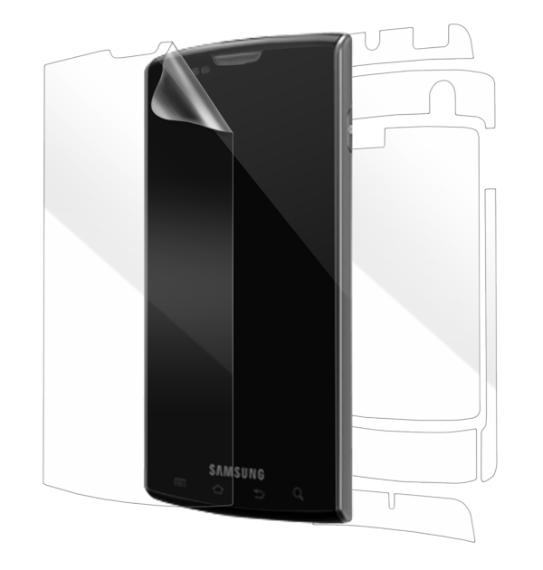 Samsung Captivate i897 (AT&T) Screen Protector / Skins