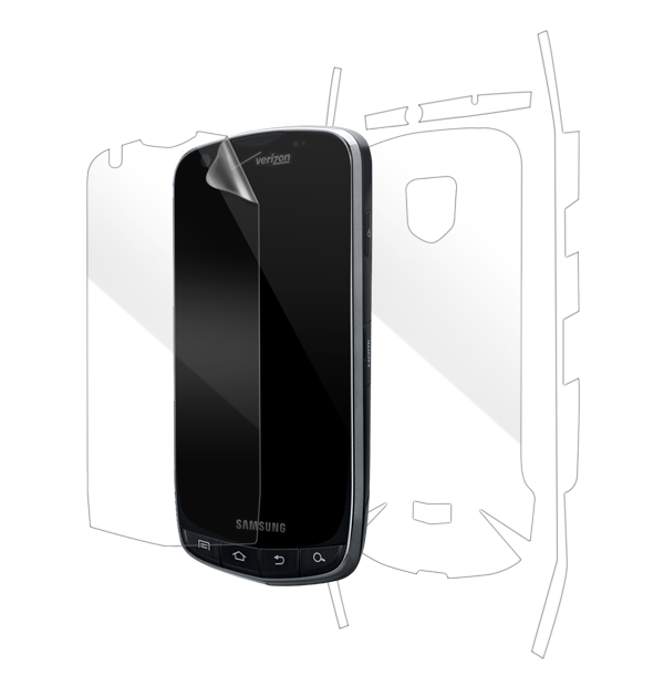 Samsung Droid Charge Screen Protector / Skins