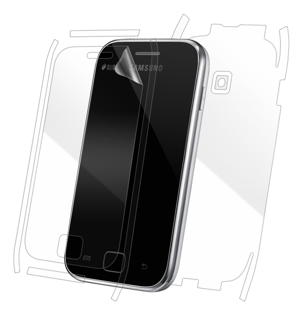 Samsung Galaxy Ace Duos S6802 Screen Protector / Skins