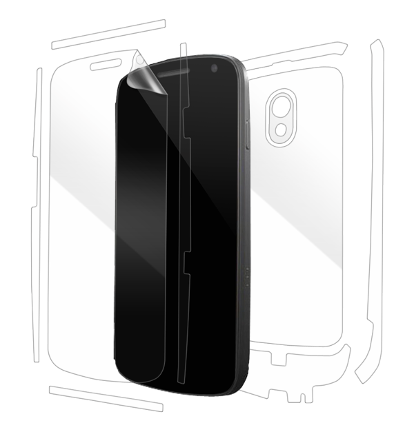 Samsung Galaxy Nexus Screen Protector / Skins